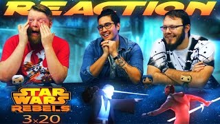 Star Wars Rebels 3x20 REACTION!!