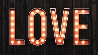 How To Create a Vintage Marquee Bulb Sign in Adobe Photoshop