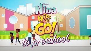 To Preschool | Nina Needs to Go | Disney Junior