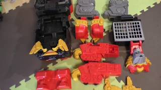 Power Rangers -Braeden's Toys reviews Power Rangers Ninja Steel/Battles Dultan/Makes Magnetic Slime