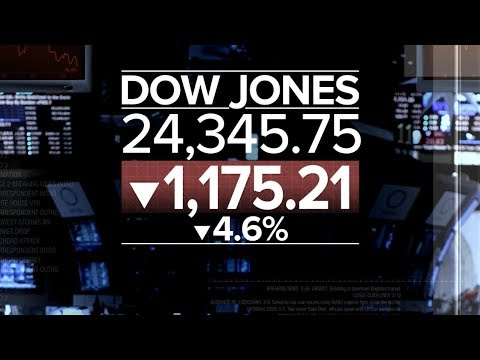Xxx Mp4 Dow Plummets More Than 1 100 Points In Biggest Single Day Drop In History 3gp Sex