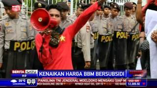 Mahasiswa Blokade Akses ke DPRD Tolak Kenaikan Harga BBM