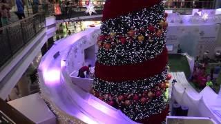 Canal Walk's Ice Slide Wonderland