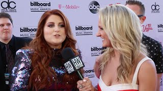 Meghan Trainor Gives Love To Fans - BILLBOARD MUSIC AWARDS 2016 (Interview)