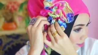 Cara Memakai Jilbab Kreasi Modern | Untuk Pesta | Kerudung Kerja ataupun sehari-hari