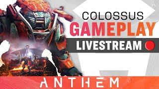 Colossus Javelin Gameplay – Anthem Developer Livestream from February 13