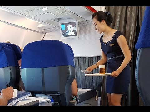 Is Air Koryo really 1 Star Worst Airline Business Class Review Beijing to Pyongyang Tu 204