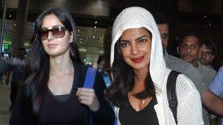 Airport Spotting 26 May 2016 | Priyanka Chopra, Katrina Kaif