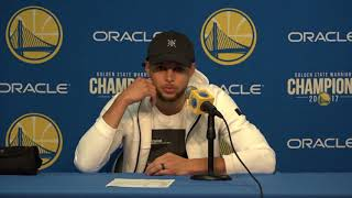 Stephen Curry Postgame Interview / GS Warriors vs Thunder / Feb 24
