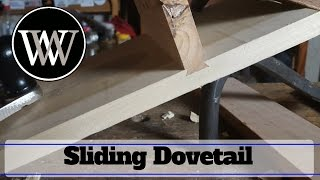 How To Make a Sliding Dovetail With Hand Tools - a How-to Woodworking Joint