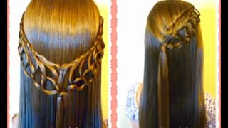 Feather Chain Braid Hairstyles, new hair styles 1