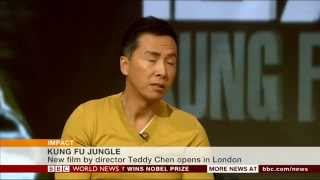 Donnie Yen Kung Fu Jungle BBC interview