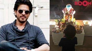 SRK receives hate messages for Abram