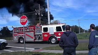Fire in Sarasota FL 1-20-2016