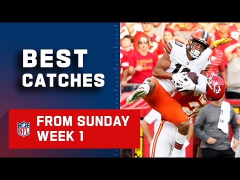 Top Catches from Sunday Week 1 2021 NFL Highlights