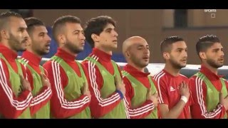 [29.03.2016] Morocco vs Cape Verde - national anthems