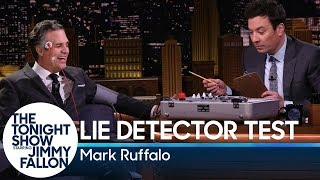 Jimmy Grills Mark Ruffalo About Avengers: Endgame with a Lie Detector Test