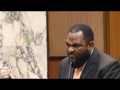 VERY FUNNY - COPE Willie Madisha vs Minister Naledi Pandor HONG HONG HONG