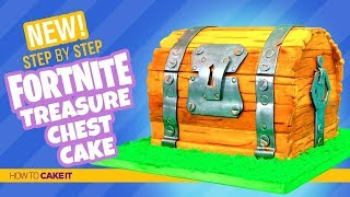 How To Make Fortnite Treasure Chest Cake by Asma Qureshi | How To Cake It Step By Step