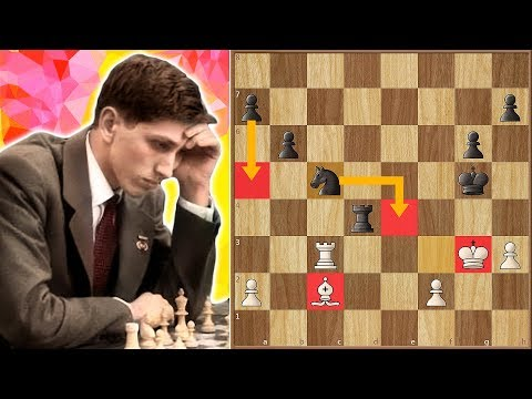 Mikhail Botvinnik vs Bobby Fischer The Only Game They EVER Played