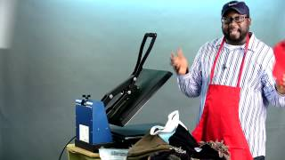 Print All Types of Stuff With a Heat Press Machine