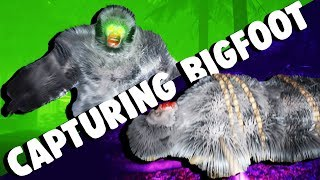 TRAPPING BIGFOOT and CAPTURING HIM! - Let's Play Finding Bigfoot Gameplay