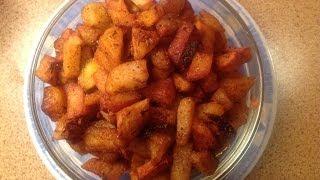 Bangala Dumpa Fry /Crispy Potato Fry  in Telugu