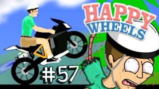 TRAGEDIA IN MOTO! (Adrenalina Powa) - Happy Wheels [Ep.57]