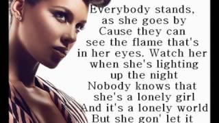 Alicia Keys - Girl on fire lyrics