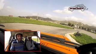 1° Rally del Mandorlo - M. Lauricella e G. Cacciatore su Ford Escort MK II - PS 3