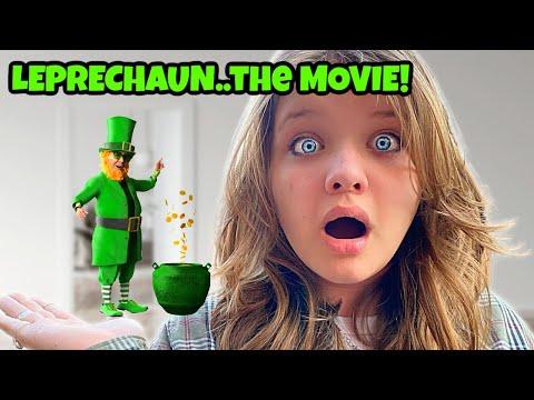 LEPRECHAUN REWIND We Caught a REal Leprechaun the mOVIE My Dad is a Leprechaun
