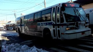 [MTA]: Bay Ridge / 4th Avenue Bound 1999/2015 Novabus RTS [#5011] [#5112] & XD40 [#7177] B1 Buses
