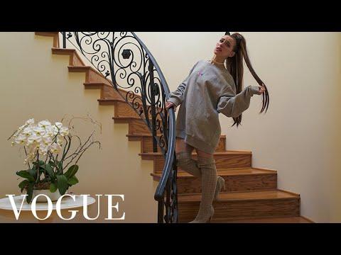 73 Questions with Ariana Grande   Vogue Parody