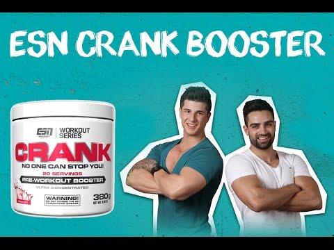 ESN Crank - Booster Test