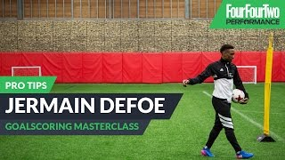 Jermain Defoe | How to score more goals | Pro tips
