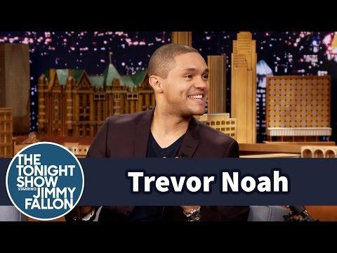 Trevor Noah s Drunk Friends Got Him into Stand Up