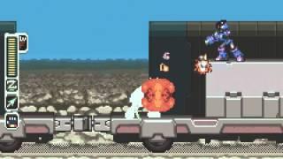 Mega Man - Zero 4 GBA Walkthrough Part 1