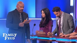 The Dinisis WIN THE CAR! | Family Feud