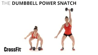 The Dumbbell Power Snatch