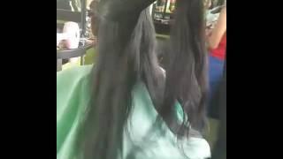 Haircut (potong rambut panjang jadi pixie)