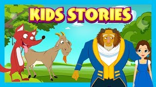 KIDS STORIES - BEAUTY AND THE BEAST (Full Version) || Storytelling By Tia and Tofu
