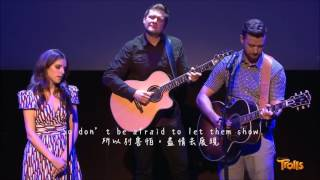 Justin Timberlake & Anna Kendrick - True Colors (live ver. with 中英字幕)