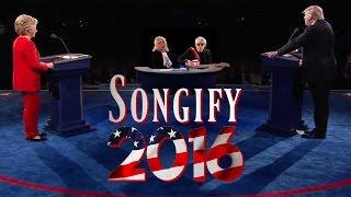 TRUMP VS. CLINTON (ft. Blondie) - Songify 2016