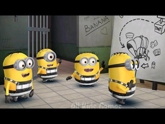 Despicable Me - Minion Rush : Prisoner Minion And Special Mission : Minion Break !