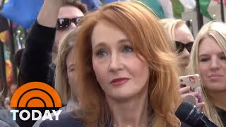 J.K. Rowling And 'Fantastic Beasts' Cast Stop By The TODAY Plaza | TODAY