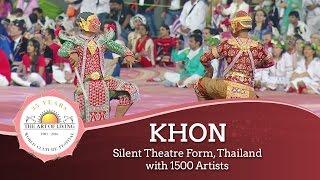 Khon - featuring Thailand Ramayana (Ramakien) || World Culture Festival 2016