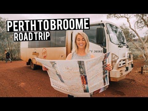 Perth to Broome Road Trip Western Australia Travel Guide