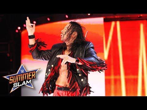 Shinsuke Nakamura's entrance wows the WWE Universe: SummerSlam 2017 (WWE Network Exclusive)