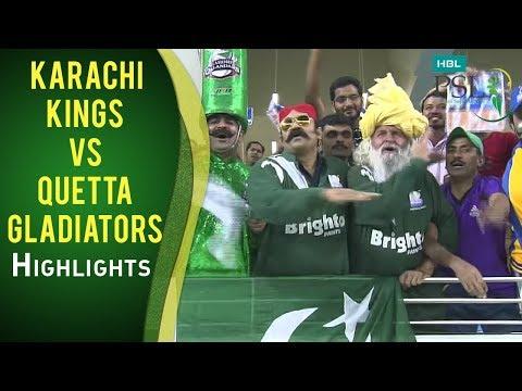 Xxx Mp4 PSL 2017 Match 15 Karachi Kings V Quetta Gladiators Highlights 3gp Sex
