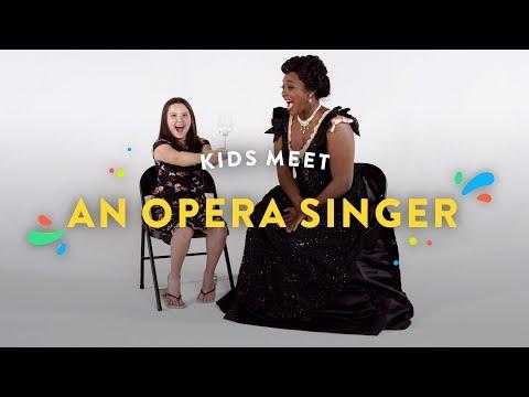 Kids Meet an Opera Singer Kids Meet HiHo Kids